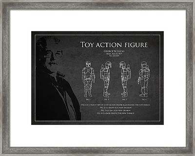 George Lucas Patent 1979 Framed Print by Aged Pixel