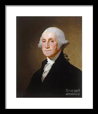 George Washington Framed Prints