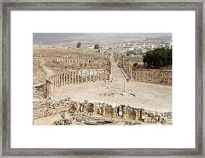 Gerasa, Jordan Framed Print