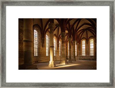 Germany, Baden-wurttemburg, Maulbronn Framed Print by Walter Bibikow