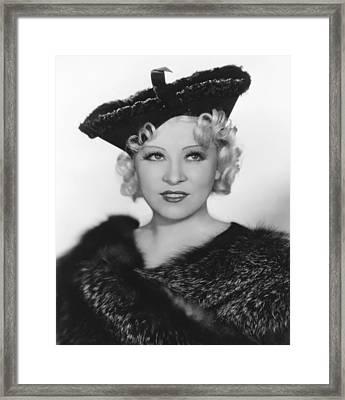 Go West Young Man, Mae West, 1936 Framed Print