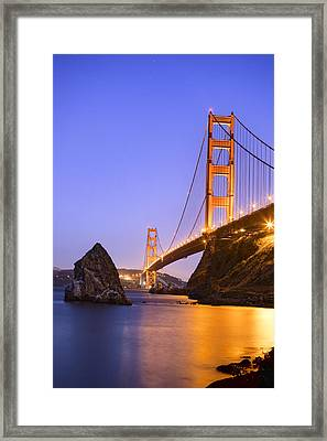 Golden Gate Bridge Framed Print by Emmanuel Panagiotakis