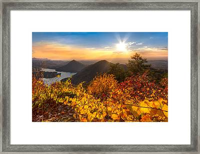 Golden Hour Framed Print by Debra and Dave Vanderlaan
