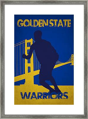 Golden State Warriors Framed Print