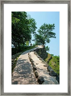 Gongsanseong Castle, Gongju, South Framed Print by Michael Runkel
