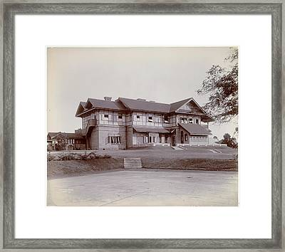 Government House In Maymyo Framed Print