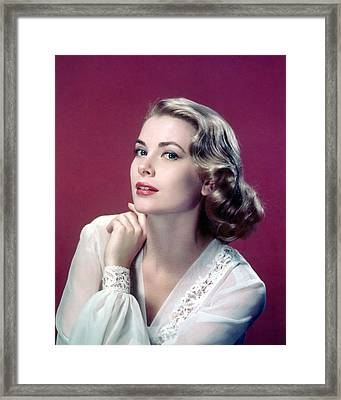 Grace Kelly Framed Print