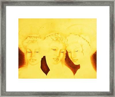 3 Graces Framed Print