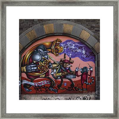 Graffiti House Framed Print