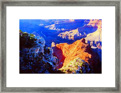 Grand Canyon From Hermit's Rest Road Framed Print