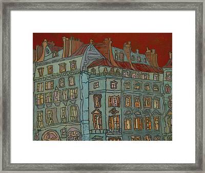Grand Hotel Framed Print