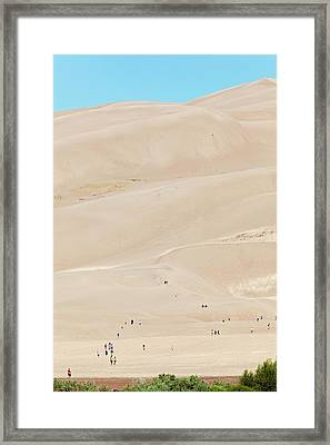 Great Sand Dunes National Park Framed Print
