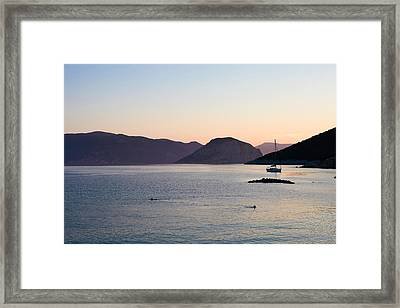 Greek Islands Framed Print by Tom Gowanlock