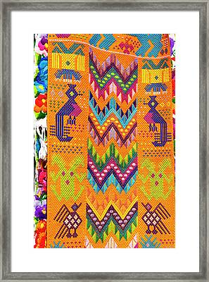 Guatemala, Chichicastenango Framed Print by Michael Defreitas
