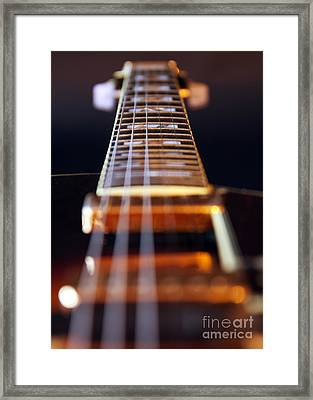 Guitar Framed Print by Stelios Kleanthous