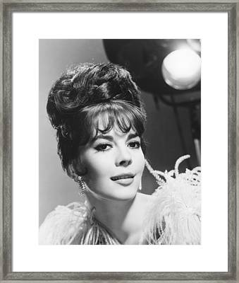 Gypsy, Natalie Wood, 1962 Framed Print by Everett
