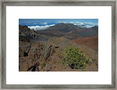 Haleakala Afternoon Framed Print by Stephen  Vecchiotti