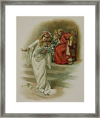 Hamlet Framed Print by British Library