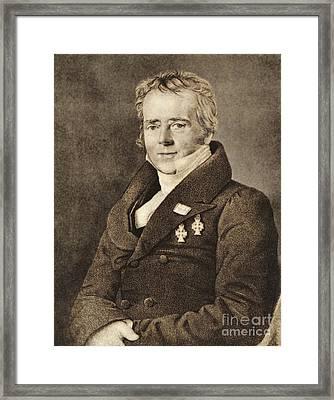 Hans Christian Oersted Framed Print