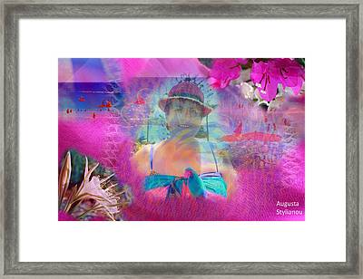 Happy Holidays Framed Print by Augusta Stylianou