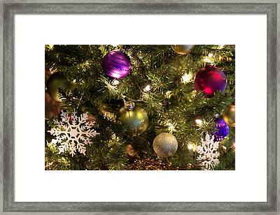 Happy Holidays Framed Print by Patricia Babbitt