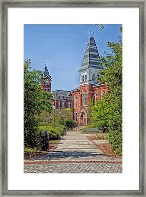 Hargis Hall - Auburn University Framed Print by Mountain Dreams