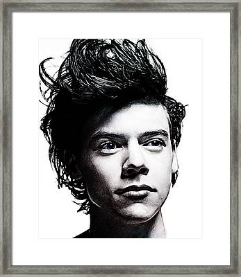 Harry Styles Framed Print by The DigArtisT