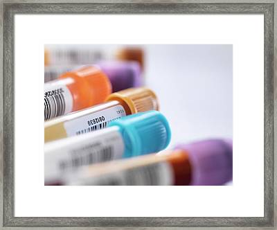 Health Screening Framed Print by Tek Image