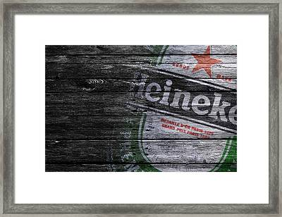 Heineken Framed Print by Joe Hamilton