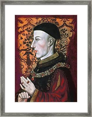 Henry V (1387-1422) Framed Print by Granger