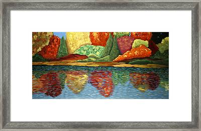 High Country Autumn Framed Print