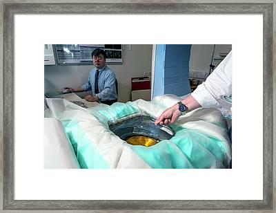High Intensity Focused Ultrasound Framed Print