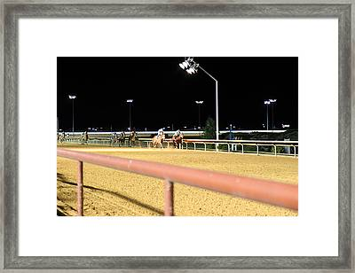 Hollywood Casino At Charles Town Races - 12124 Framed Print