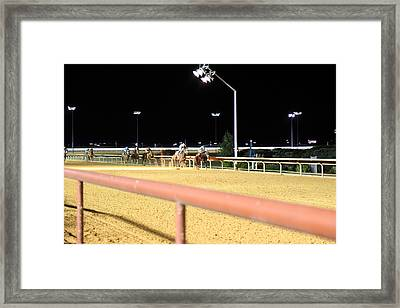 Hollywood Casino At Charles Town Races - 12125 Framed Print