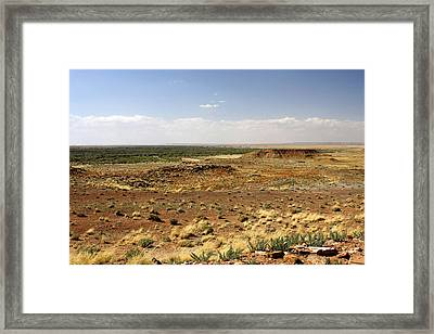Homolovi Ruins State Park Arizona Framed Print by Christine Till