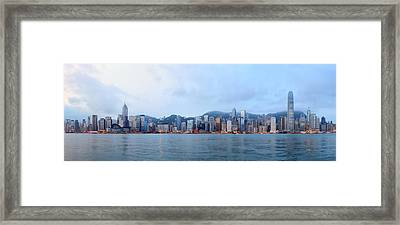 Hong Kong Morning Framed Print