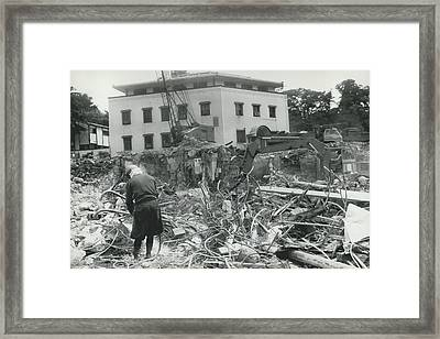 �hoover�s Folly� In Tokyo Demolished Framed Print by Retro Images Archive