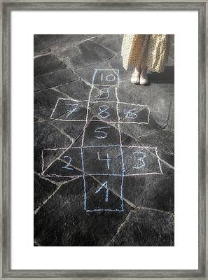 Hopscotch Framed Print by Joana Kruse