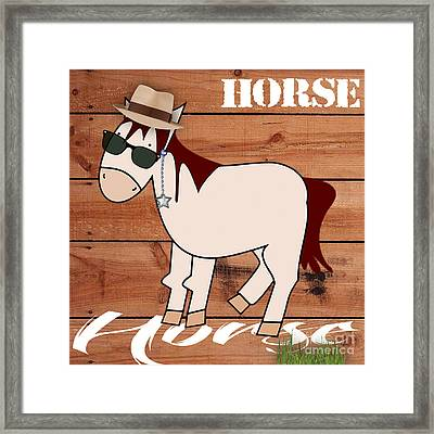 Horse Collection Framed Print