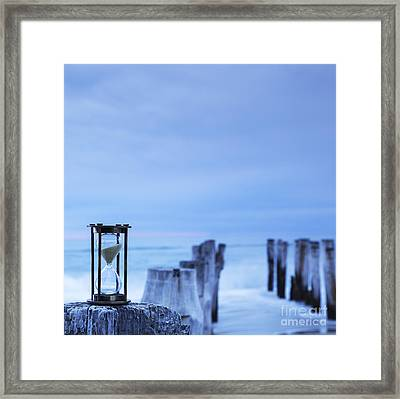 Hourglass Blue Sky Framed Print by Colin and Linda McKie
