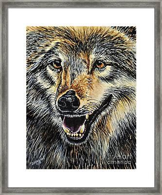 Hungry Framed Print by Doug Heavlow