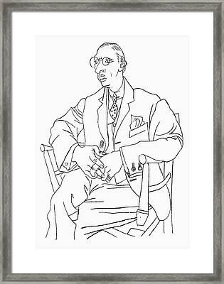Igor Stravinsky (1882-1971) Framed Print by Granger