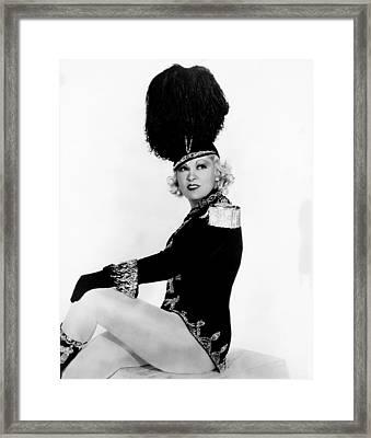 Im No Angel, Mae West, 1933 Framed Print