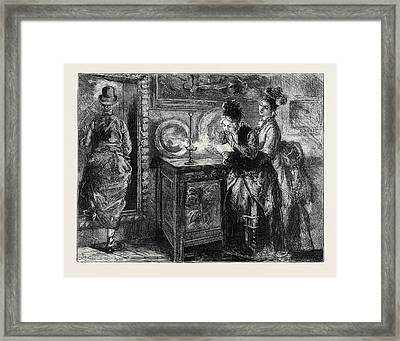 Image Accompanying The Law And The Lady A Novel Framed Print by English School