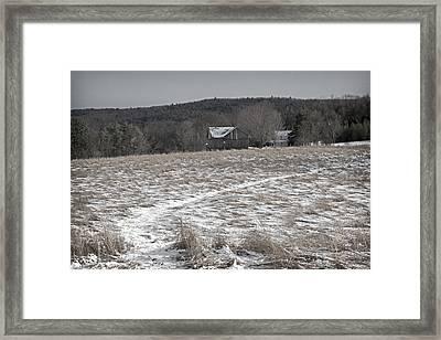 In The Bleak Mid-winter Framed Print by John Stephens