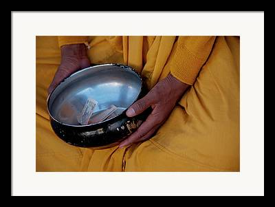 Begging Bowl Framed Prints