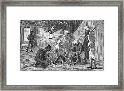 India Snake, 1887 Framed Print