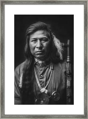 Indian Of North America Circa 1905 Framed Print by Aged Pixel