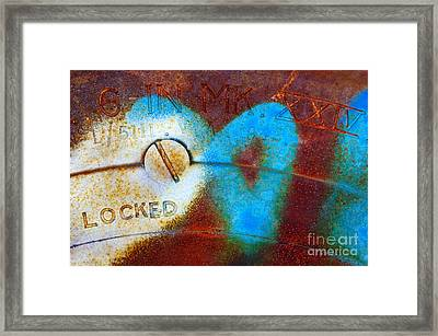 Industrial Detail Framed Print