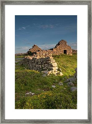 Inishmore Island Framed Print by Tom Norring
